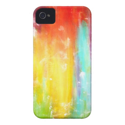 True Colors Abstract Art iPhone 4 Covers