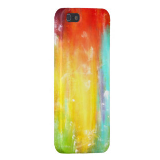 True Colors Abstract Art Cover For iPhone SE/5/5s