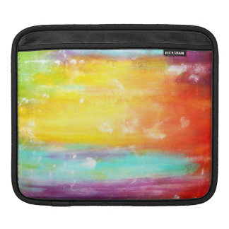 True Colors Abstract Art iPad Sleeve