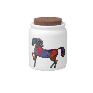 True Colors Candy Jars