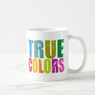 True Colors Classic White Coffee Mug