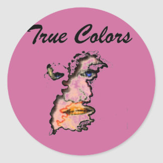 true colors face stickers