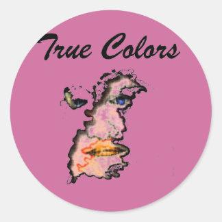 true colors face stickers