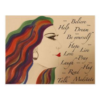 True Colors II Postcard
