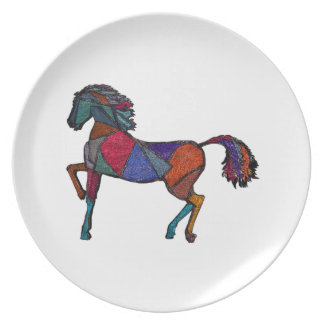 True Colors Melamine Plate
