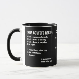 True covfefe recipe mug