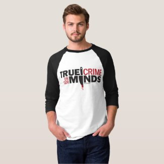 True Crime on Our Mind Baseball T-Shirt
