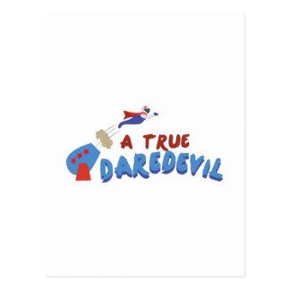 True Daredevil Postcard
