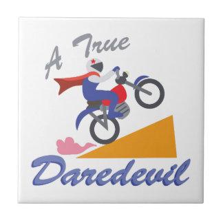 True Daredevil Small Square Tile