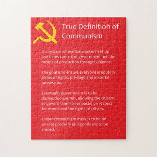 True Definition of Communism 10x14 Puzzle