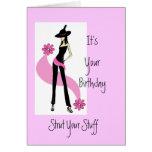 True Diva Babyboomer Birthday Card for Women
