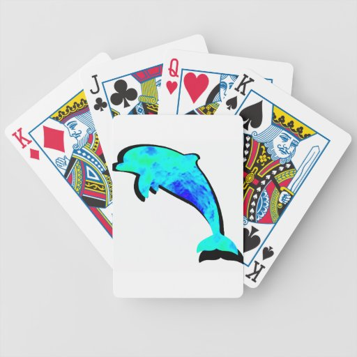 TRUE DOLPHIN SPIRIT BICYCLE PLAYING CARDS