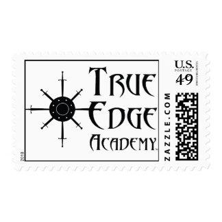 True Edge Academy Logo Postage Stamp