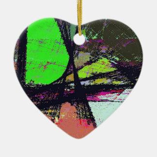 True Escape Ceramic Heart Decoration