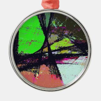 True Escape Silver-Colored Round Decoration