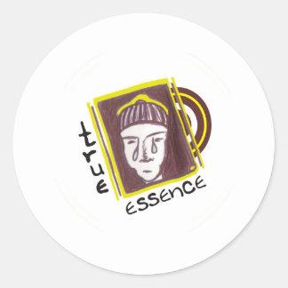 TRUE ESSENCE CLASSIC ROUND STICKER