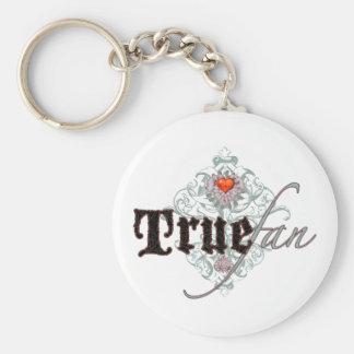 True Fan Keychain