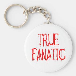 True Fanatic Basic Round Button Keychain