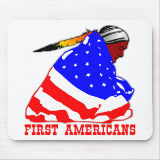 True First Americans Mouse Pad