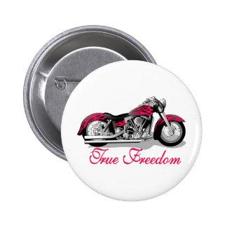 True Freedom Pinback Button