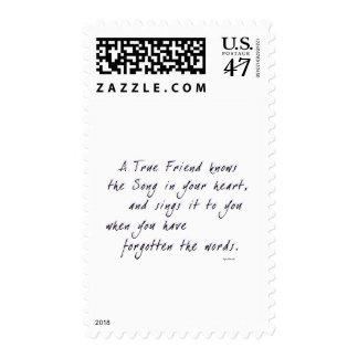 True Friend Stamp