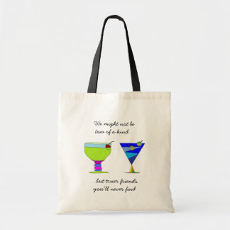 True Friends Artisitic Drinks & Saying Gift Bag