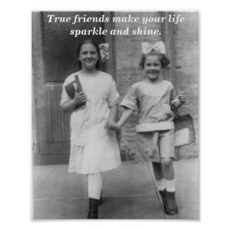 True Friends Print