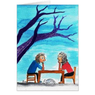 True Friendship Greeting Card