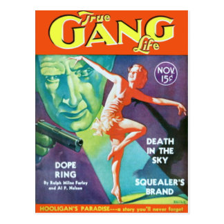 True Gang Life Postcard