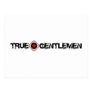 True Gentlemen Postcard