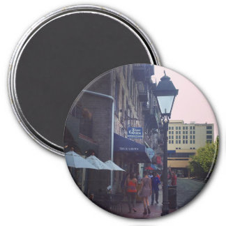 True Grits in Savannah Georgia 3 Inch Round Magnet