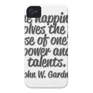 True happiness involves the full use of one's ... iPhone 4 cover