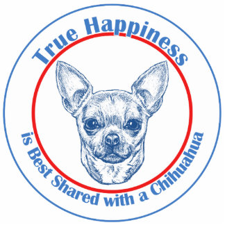 True Happiness with a Chihuahua Photo Sculptures