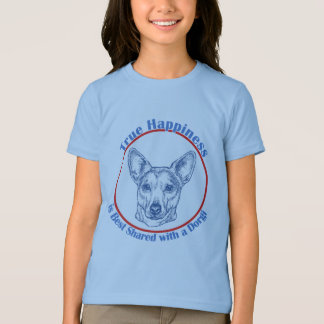 True Happiness with a Dorgi (shorthair) T-Shirt