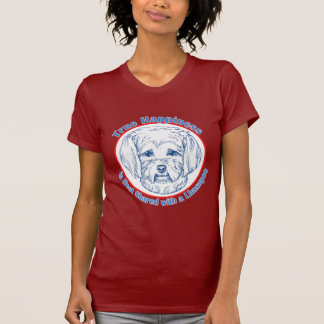 True Happiness with a Lhasapoo T-Shirt