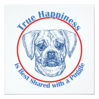 True Happiness with a Puggle Announcement