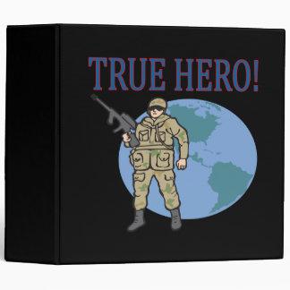 True Hero 3 Ring Binders
