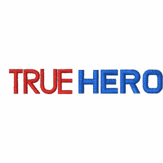 True Hero logo polo shirt, pick your color