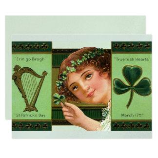 True Irish Hearts Card
