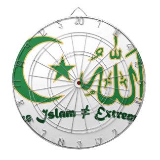 True Islam Dartboard With Darts