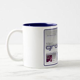 True Jet City Groovera Coffee Cup Two-Tone Coffee Mug