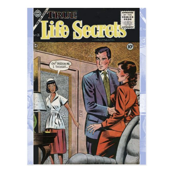 True Life Secrets #26 Postcard