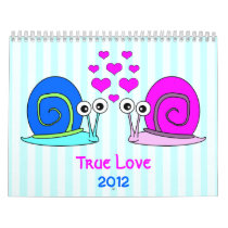 True Love 2012 Wall Calendar
