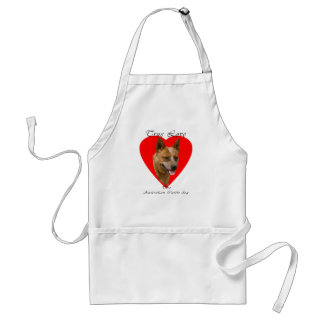 True Love ACD Red Adult Apron