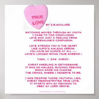 True Love Always poster. Poster
