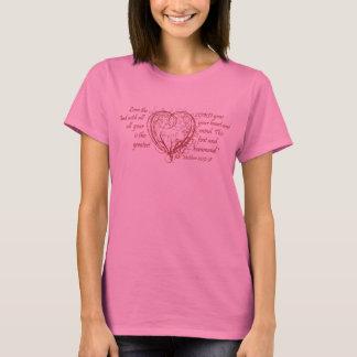 True Love and Red Heart Swirl T-Shirt