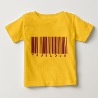 True Love Barcode Valentine Baby T-Shirt