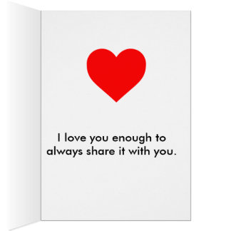 True Love! Greeting Card