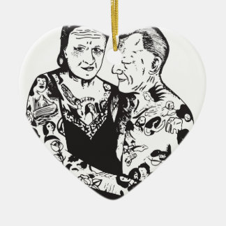 True Love Ceramic Ornament