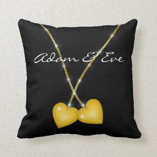 True Love Charms Throw Pillow